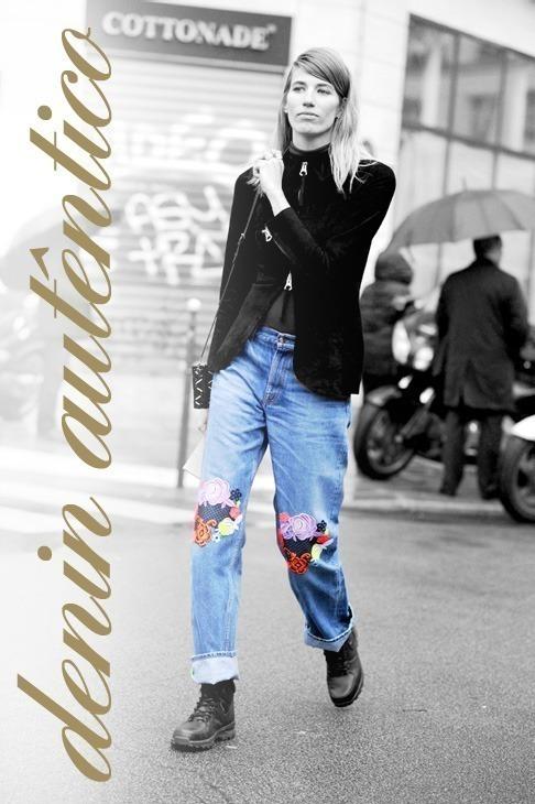 Veronika Heilbrunner, after Jean Paul Gaultier couture show, Par