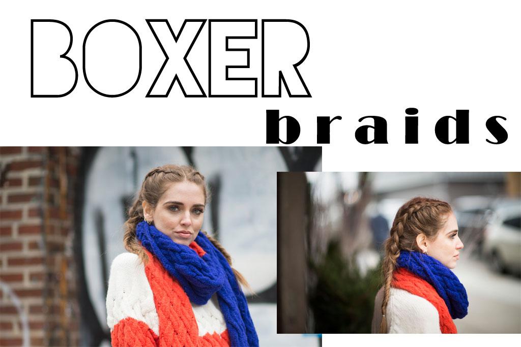 hair - boxer braid