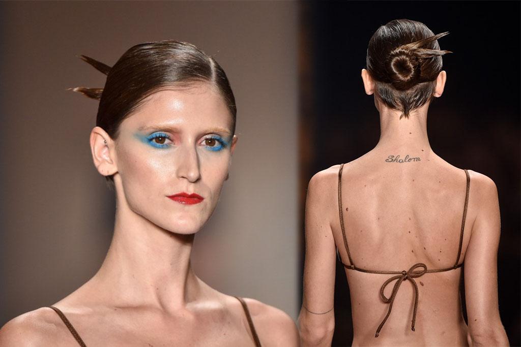 Desfile Adriana Degreas - SPFW 41 - Hair - Blog Paula Martins 2
