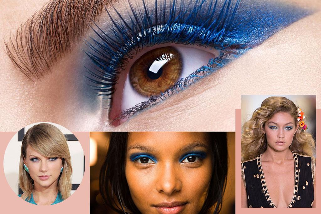 Make - Maquiagem Azul - Blog Paula Martins 3