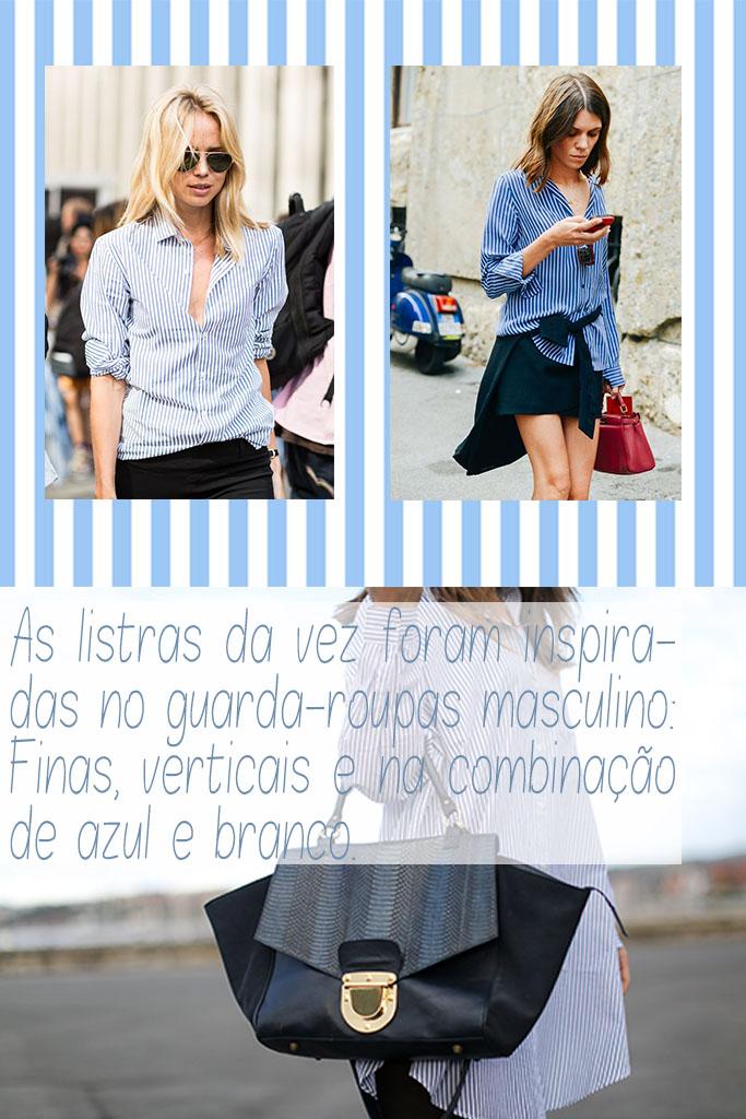 Moda - Camisa Masculina Listrada - Stiped men shirt street style - Blog Paula Martins 2