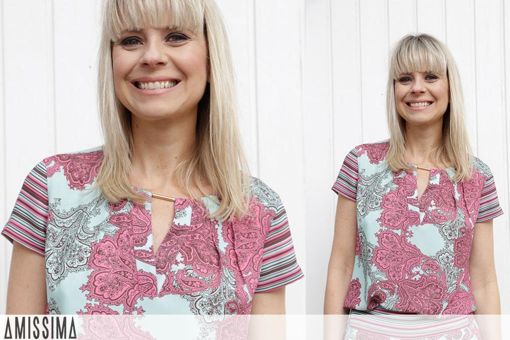 Look da Paula - Look Amissima - Conjunto Estampado Amissima - Look aos 40 - Blog Paula Martins 1