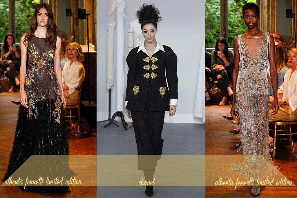 Moda - Bordados Dourados - Paris Couture Fall 2017 - Blog Paula Martins 2