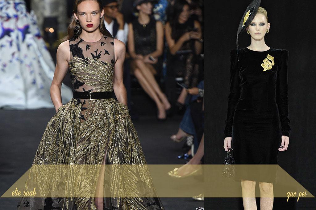 Moda - Bordados Dourados - Paris Couture Fall 2017 - Blog Paula Martins 4