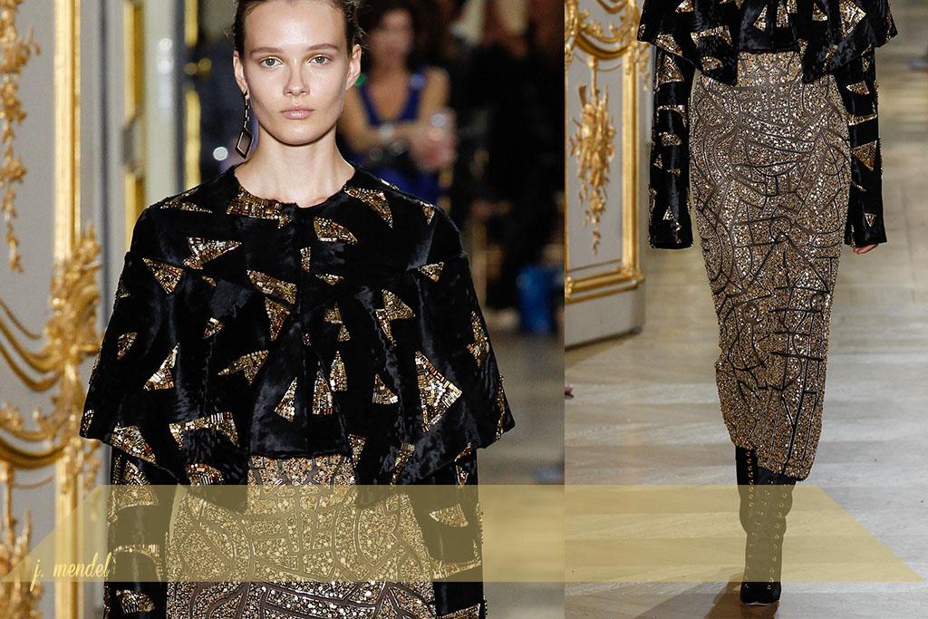 Moda - Bordados Dourados - Paris Couture Fall 2017 - Blog Paula Martins 5
