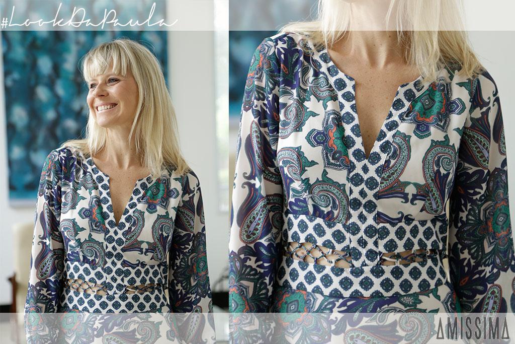 Look da Paula - Look do Dia - Estilo Paula Martins - Vestido Amissima - Publicidade - Blog Paula Martins 1