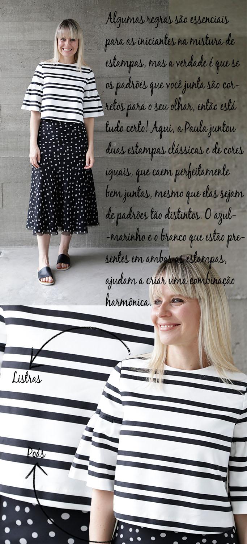 Look do Dia - Look da Paula - Estilo Paula Martins - Mistura de Estampas - Blog Paula Martins 3