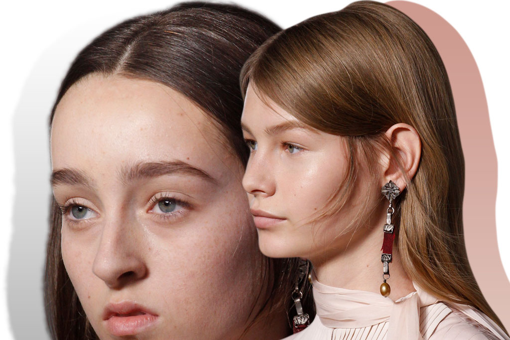 tendencia maquiagem - fresh face - valentino couture 2017 - blog paula martins 2