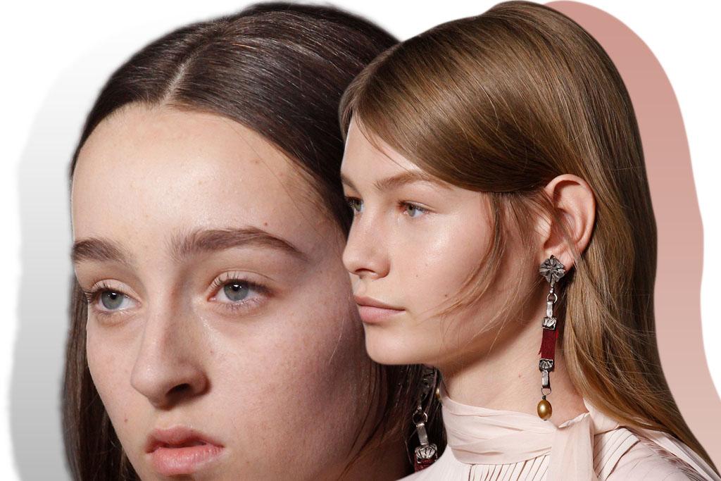 tendencia maquiagem - fresh face - valentino couture 2017 - blog paula martins 2
