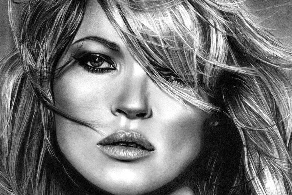 kate_moss_by_chriswoottonart-d4xivfr