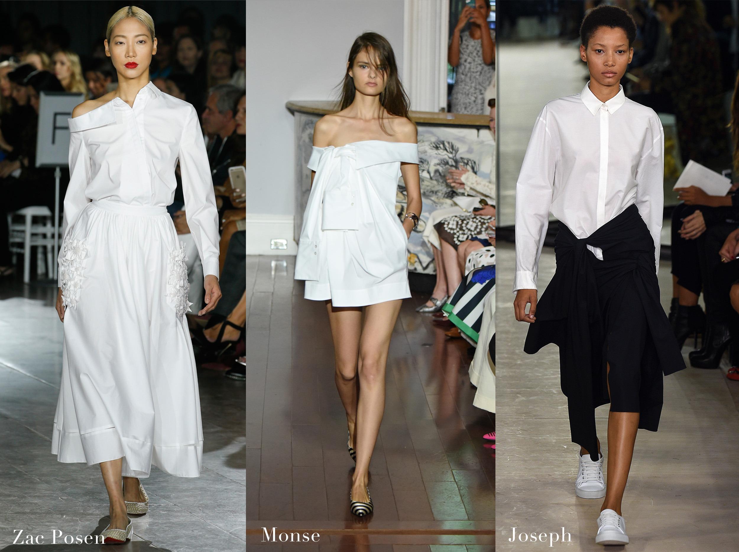 Varias maneiras de usar camisa branca 5