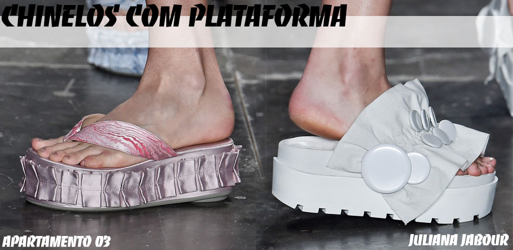 SPFW 41 - Shoes - Chinelo com Plataforma - Blog Paula Martins