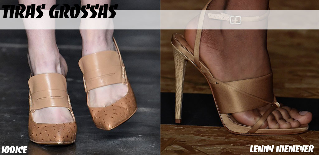 SPFW 41 - Shoes - Tiras Grossas - Blog Paula Martins