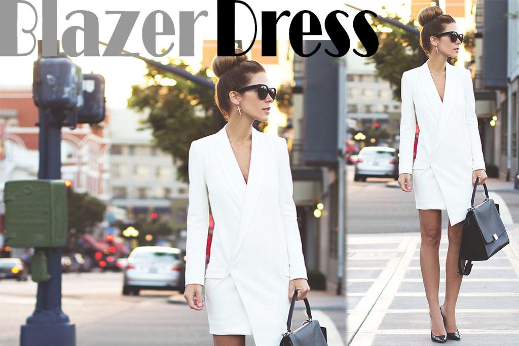 Blazer Dress - Moda - Blog Paula Martins 3