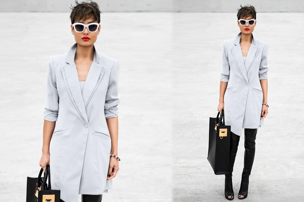 Blazer Dress - Moda - Blog Paula Martins 6