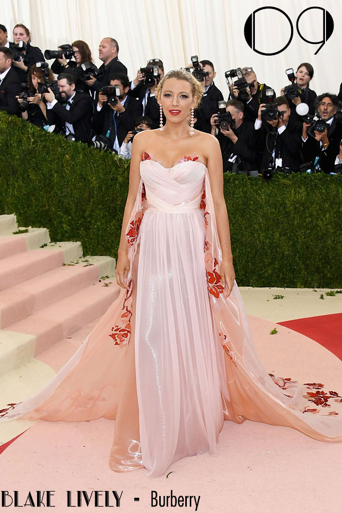 Met Gala 2016 - As 10 Mais - Blake Lively - Blog Paula Martins