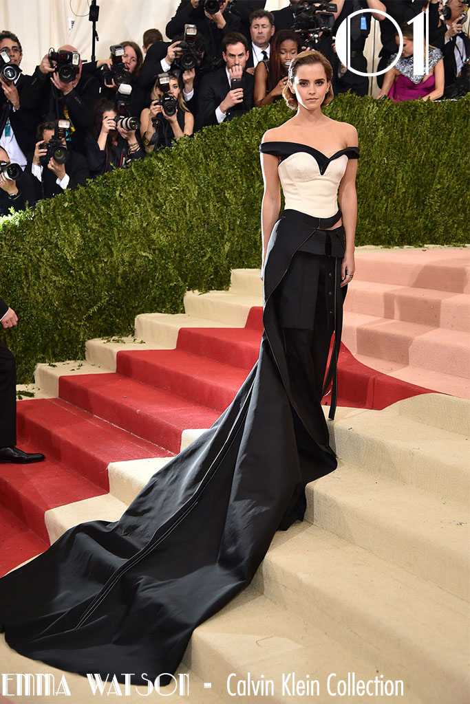 Met Gala 2016 - As 10 Mais - Emma Watson - Blog Paula Martins