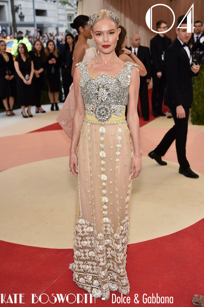 Met Gala 2016 - As 10 Mais - Kate Bosworth - Blog Paula Martins