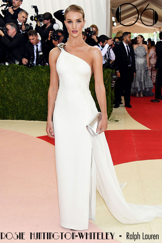 Met Gala 2016 - As 10 Mais - Rosie Huntington-Whiteley - Blog Paula Martins