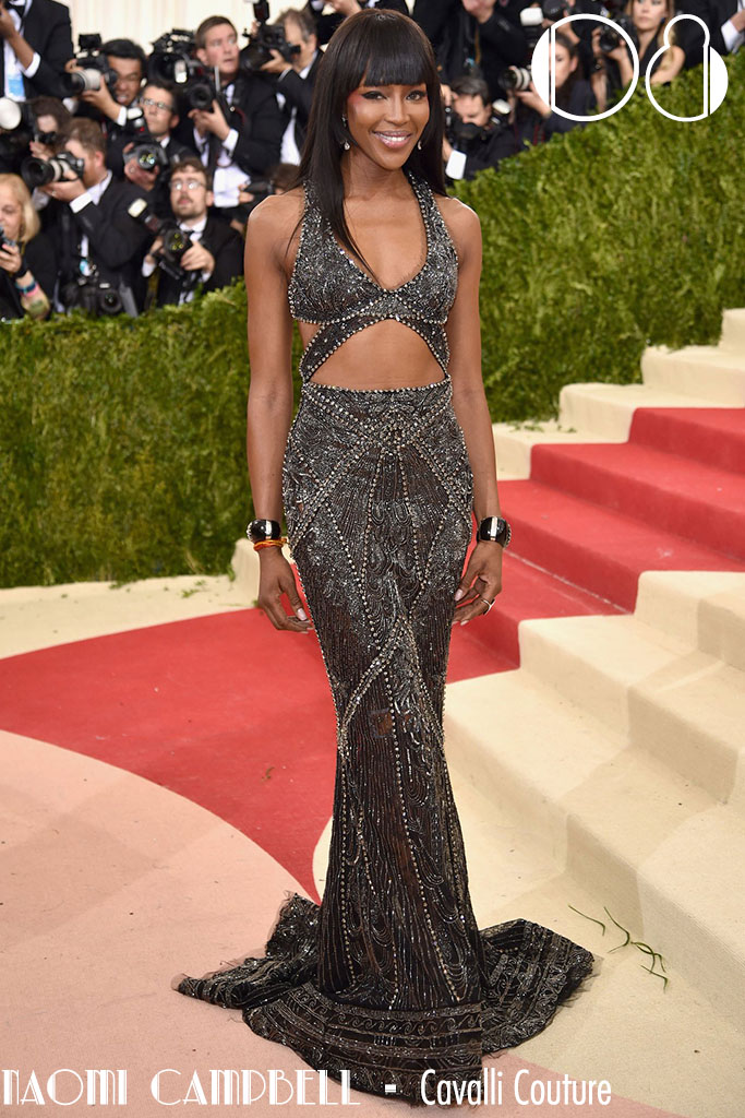 Met Gala 2016 - As 10 mais - Naomi Campbell - Blog Paula Martins