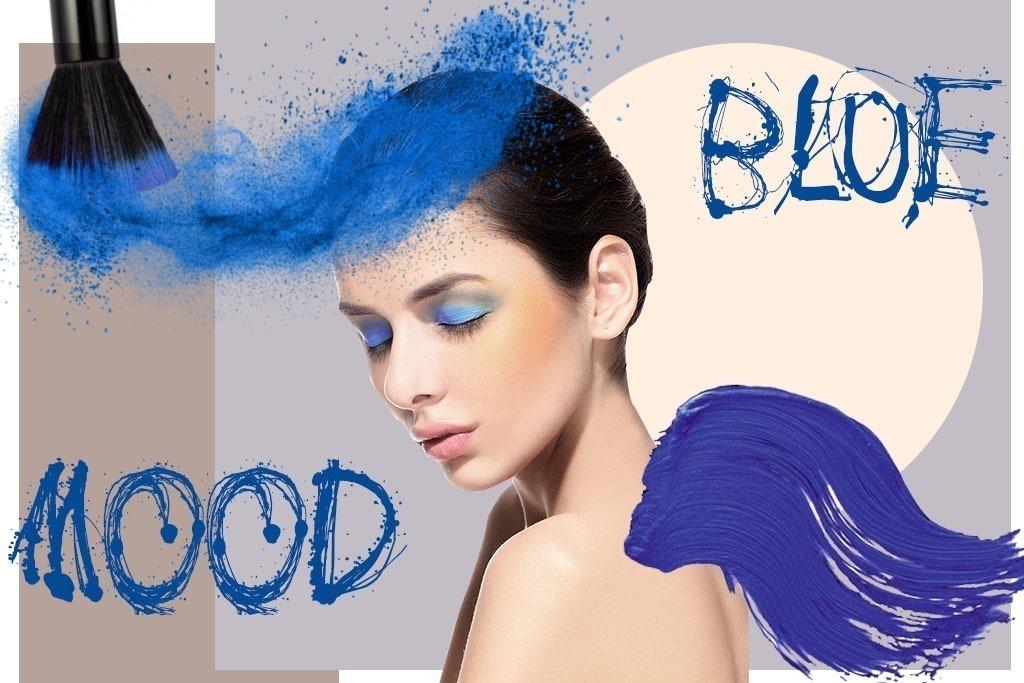 Make - Maquiagem Azul - Blog Paula Martins 1