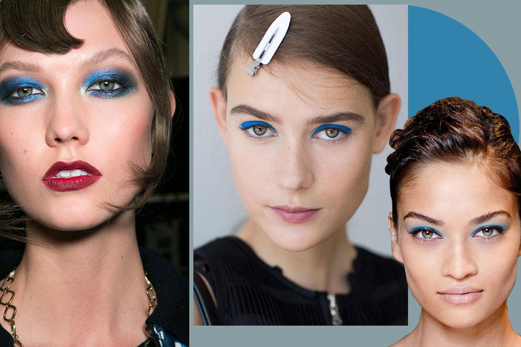 Make - Maquiagem Azul - Blog Paula Martins 4