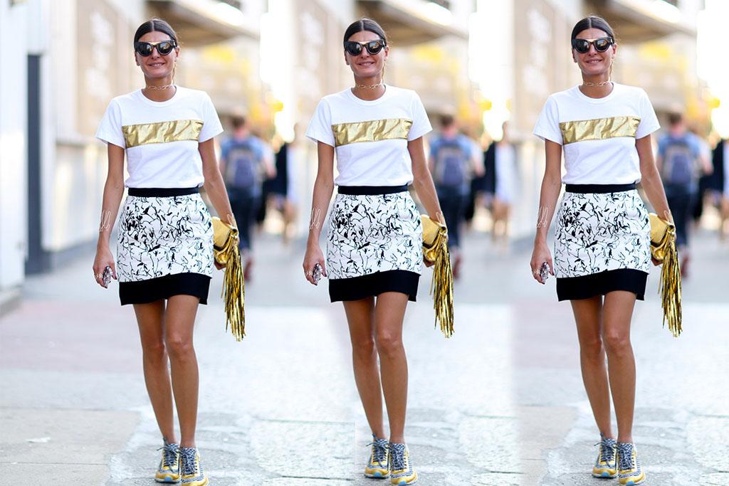 Truques de Styling - Saia e t-shirt - Blog Paula Martins 3