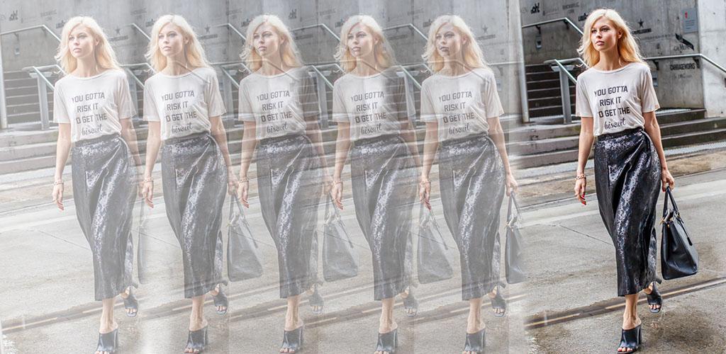 Truques de Styling - Saia e t-shirt - Blog Paula Martins 4