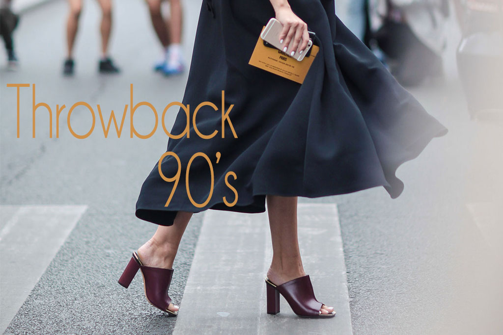 Moda - Anos 90 - Mule Sandals Street Style - Blog Paula Martins 1