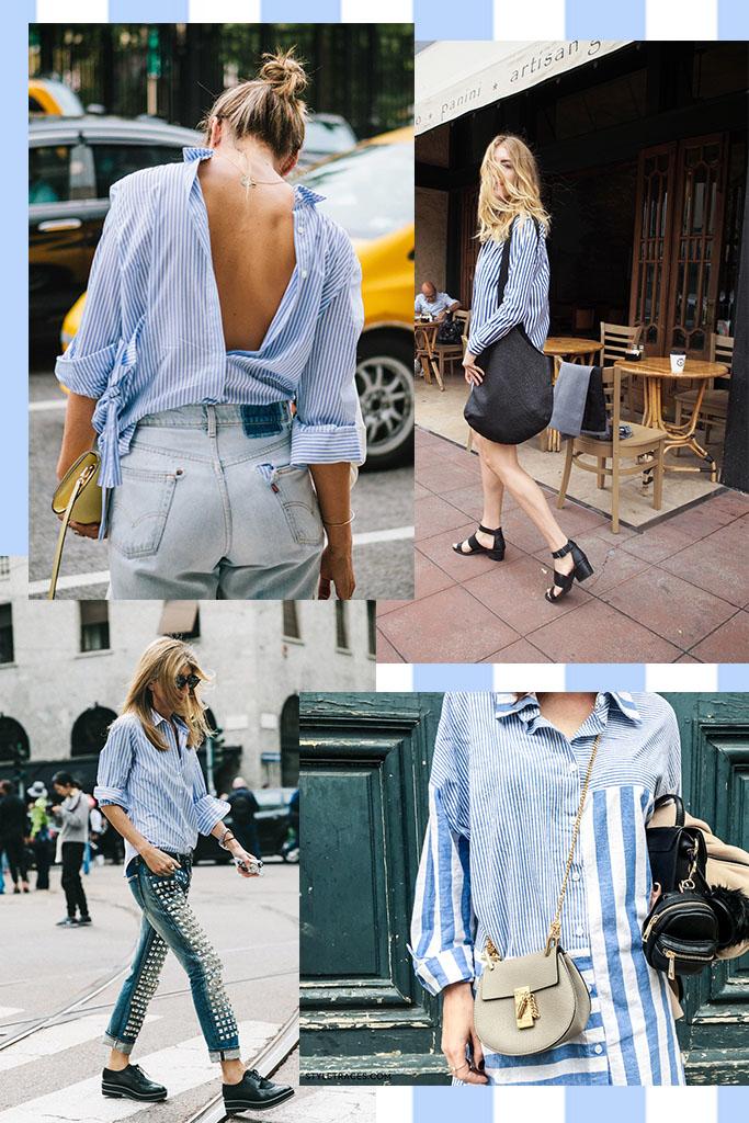 Moda - Camisa Masculina Listrada - Stiped men shirt street style - Blog Paula Martins 3