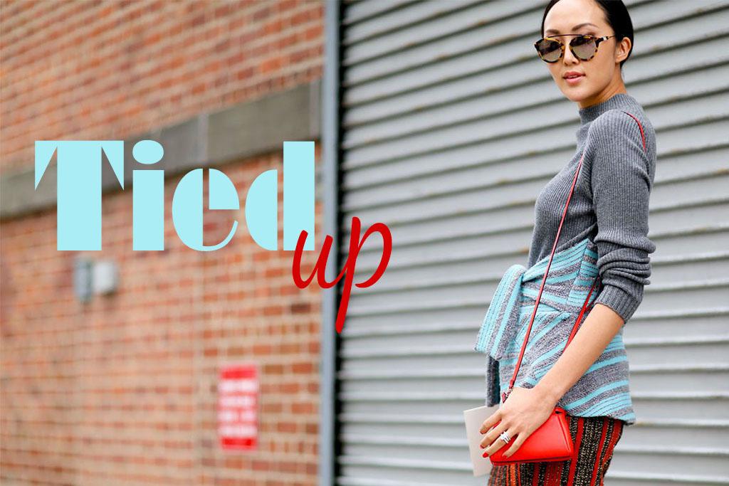 Truques de Estilo - Styling Tips - Blusa Amarrada - Tied Waist Style - Blog Paula Martins 1