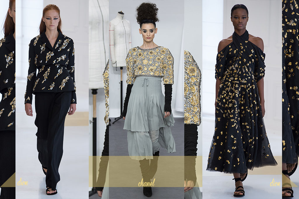 Moda - Bordados Dourados - Paris Couture Fall 2017 - Blog Paula Martins 3