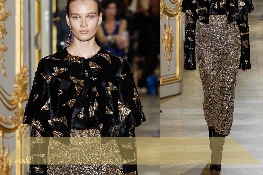 Moda - Bordados Dourados - Paris Couture Fall 2017 - Blog Paula Martins 5
