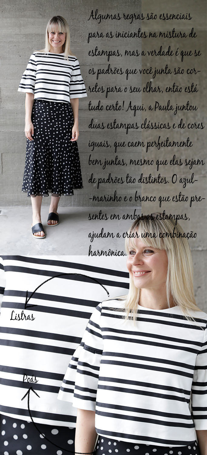 Look do Dia - Look da Paula - Estilo Paula Martins - Mistura de Estampas - Blog Paula Martins 3